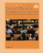 The Journal of Graduate Teaching Assistant Development, Vol. 3
