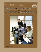 The Journal of Graduate Teaching Assistant Development, Vol. 9