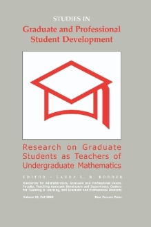 Graduate Students as Teachers of Undergraduate Mathematics