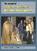 The Journal of Graduate Teaching Assistant Development, Vol. 10