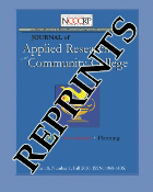 The Journal of Applied Researah in the Comm. Coll.  Reprints