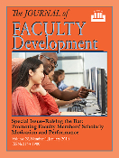 Promoting Faculty Members' Scholarly Motivation and Performance