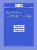 Individual Subscription, J. Appl. Res. in the Com. Coll.