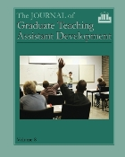 The Journal of Graduate Teaching Assistant Development, Vol. 8