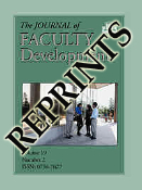 The Journal of Faculty Development Reprints