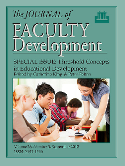 Threshold Concepts in Educational Development