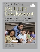The Future of Faculty Development